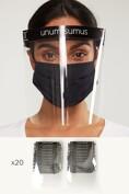 Unum Sumus Face Shields pack of 20