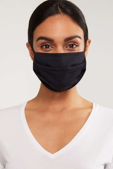 3 Pleat mask with nose adjustment