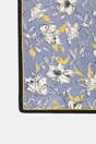 Floral print scarf - Multi Blue