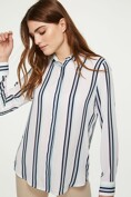 Fluid striped shirt