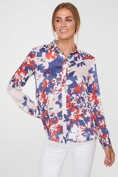 Floral print regular shirt