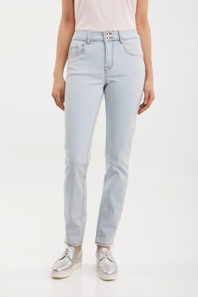 Push up high waist slim jean