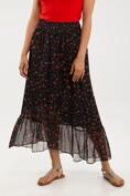 Bohemian printed skirt