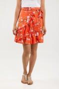 Magnolia wrap skirt