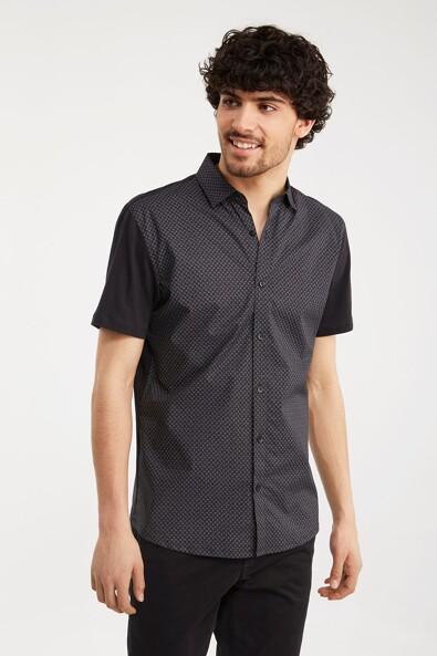 Jersey back printed shirt