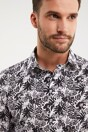 Printed Extra-Fitted Non-iron shirt - Multi White