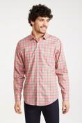 Multitone plaid shirt