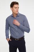 Non-iron geometric pattern shirt