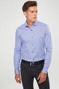 Micro pattern jersey shirt