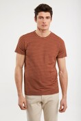 Striped loose fit t-shirt