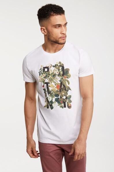 Foliage print T-shirt