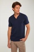 Knitted cuban collar t-shirt