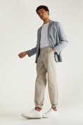 Fitted unstructured check blazer
